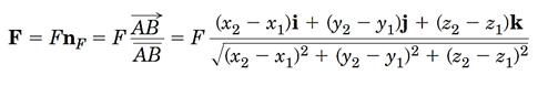 فرمول های استاتیک